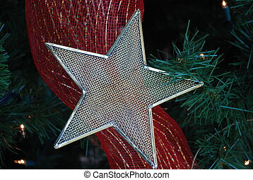 Mesh star and bow
