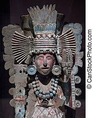 mesoamerican, 像, 石, コロンビアの前の