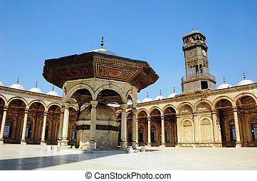 mesquita, em, damasco
