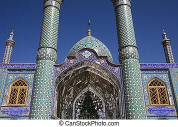 mesquita, em, irã