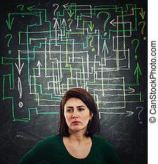 mess question maze