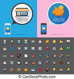 message., bańka, rozmowa, smartphone
