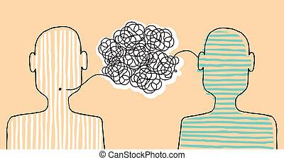 message, communiquer