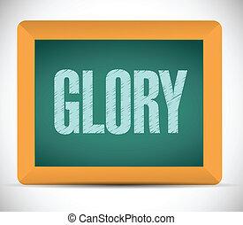 message, conception, illustration, gloire, planche