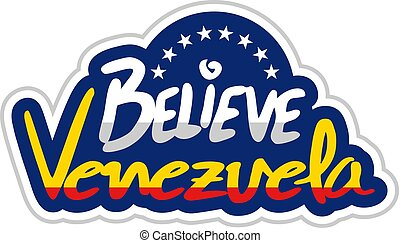 message, croire, venezuela, symbole