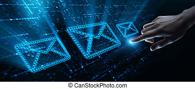 Message Email Communication Internet Technology Network Concept