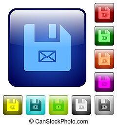 Message file color square buttons
