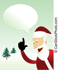 Message from Santa Claus