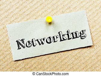 message, gestion réseau