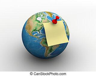 message, global