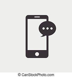Message Icon, Vector Message Icon eps10.