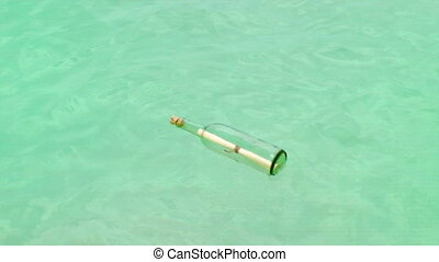 Message In A Bottle, Tropical Beach - Message In A Bottle...