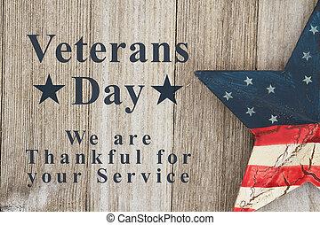 message, jour vétérans