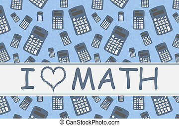 message, mot, amour, math, calculatrices