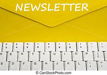 message, newsletter