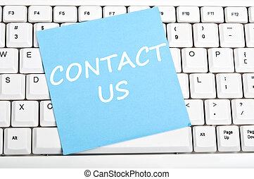 message, nous contacter