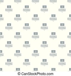 Message pattern vector seamless