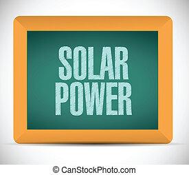 message, solaire, illustration, puissance, planche