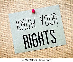 message, ton, savoir, droits