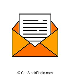 message vector design template illustration