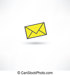 messages, icône