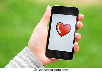 messaggio, amore