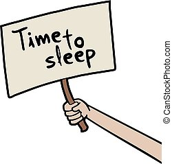 messaggio, tempo sonno