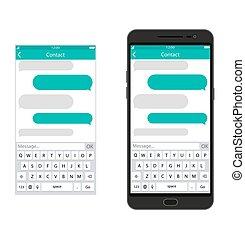 messaging, app, smartphone, sms