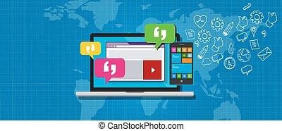 messaging, sistema, ems, empresa