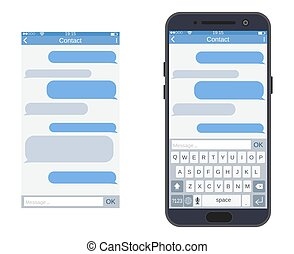 messaging, smartphone, sms, app