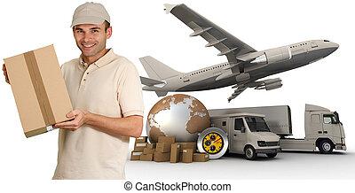 Messenger and transportation process
