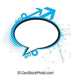 messenger window icon illustration isolated on white ...