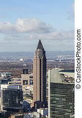 Messeturm, Frankfurt, Germany