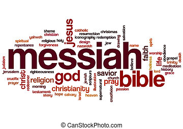 Messiah word cloud
