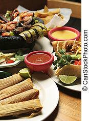 messicano cibo, -, verticale