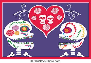 messicano, crani