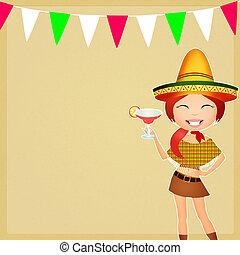 messicano, festa
