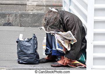 messicano, senzatetto