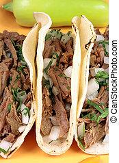 messicano, tacos