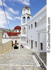 messochori, karpathos, ギリシャ, 村, 教会