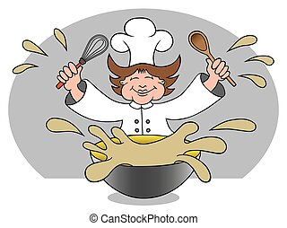 Messy Mom Chef