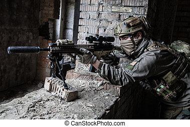 mesterlövész, action