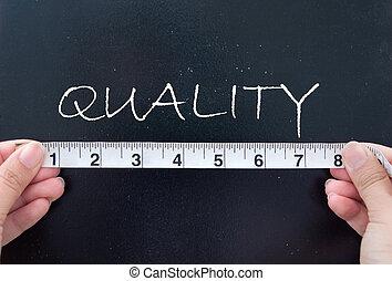 mesurer, qualité