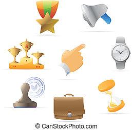metáfora, iconos del negocio