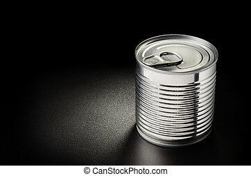 metálico, lata