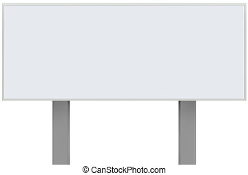 metálico, publicidad, metal, gris, signage, anuncio, grande, blanco, cartel, horizontal, anuncio, poste, aislado, poste, panel blanco, copia, poste indicador, signboard, rectangular, espacio, placa, rectángulo, zona lateral de camino, señal, plano de fondo, vacío
