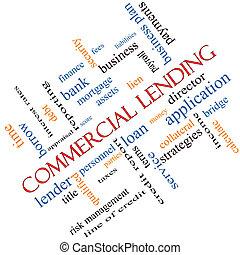 meta, begrepp, ord, lånande, kommersiell, moln