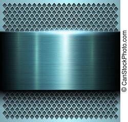 metaal, achtergrond, textuur