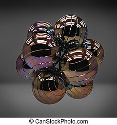 Metal 3d sphere abstraction