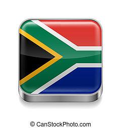 metal, afryka, południe, ikona
